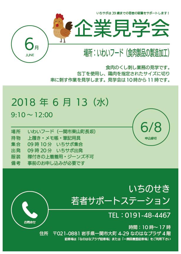 企業見学会(いわいフード)