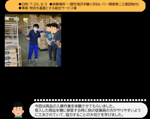 JOB体験(ヨコウン株式会社)